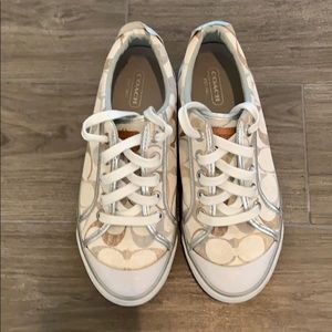 Coach Sneakers, Size 6 1/2 B